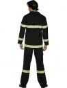 Déguisement pompier bleu marine et jaune | Déguisement Homme