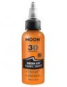 Peinture Tissu Orange Néon UV 3D 30 ml - Moon Glow