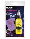 Peinture Tissu Jaune Néon UV 3D 30 ml - Moon Glow