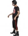 Déguisement footballeur américain zombie noir   Déguisement Homme