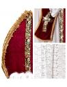 Déguisement Saint-Nicolas Homme (robe, ceinture, étole, cape, mitre)
