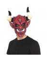 Masque intégral diable avec cornes adulte | Accessoires