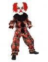 Déguisement clown effrayant (haut, pantalon & masque)