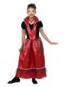 Déguisement fille princesse vampire (robe longue rouge et noir)  Déguisement Enfant