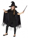 Kit enfant sorcière noire (cape et chapeau)| Déguisement Enfant