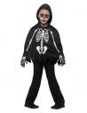 Kit enfant squelette (cape et gants)   Déguisement Enfant