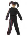 Déguisement enfant squelette fou du roi (haut, pantalon et chapeau) | Déguisement Enfant