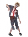 Déguisement écolier zombie, garçon (pantalon, veste, fausse chemise & cravate) | Déguisement Enfant