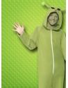 Déguisement Alien vert, enfant (combinaison à capuche) | Déguisement Enfant