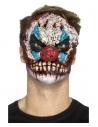 Masque tête de clown (prothèse en mousse-latex et adhésif)