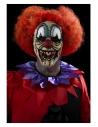 Masque tête de clown (prothèse en mousse latex et adhésif)