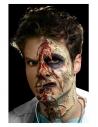 Kit latex liquide zombie (maquillage 4 couleurs et éponges, 4 X 29,57 ml) | Accessoires