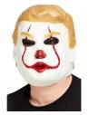 Masque intégral président clown, latex
