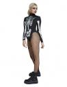 Body de squelette Fever, Noir et blanc