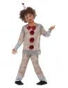 Déguisement garçon clown vintage (haut, pantalon et chapeau)