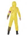Déguisement déchets toxiques, jaune, enfant (combinaison avec masque à gaz)