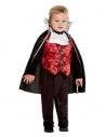 Déguisement de Vampire pour tout petit 1 à 4 ans (haut, pantalon et cape)