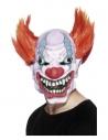 Masque horreur clown avec cheveux