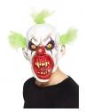 Masque intégral clown sinistre (latex)