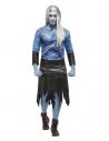 Déguisement Zombie des Glaces, Bleu (haut, jupe et manchettes)