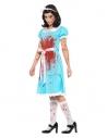 Déguisement jumelle sanguinaire (robe, chaussettes et bandeau)