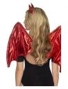 Kit diablesse sexy (ailes et serre-tête avec des cornes)