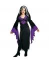 Déguisement de Mortisia fille, noir et violet (robe)