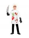 Déguisement de scientifique fou (blouse de labo, gants)