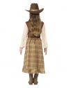 Déguisement Cow Girl fille (robe, chapeau et foulard)