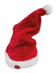 Hat  santa  with  movement  and  sound