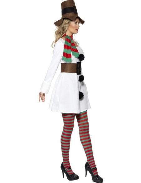 Déguisement femme bonhomme de neige | Déguisement