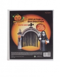 Cimetière gonflable Halloween 240cm