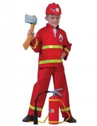 Set Pompier Enfant ( hache, casque et extincteur)
