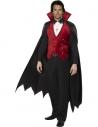 Déguisement vampire rouge et noir | Déguisement Homme