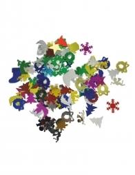 Confetti multicolor christmas