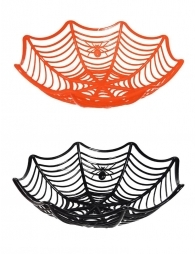 Corbeille à bonbons halloween (Orange et Noir)