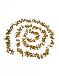 Guirlande de fleurs or de 360 cm