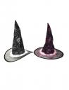Chapeau de sorcière en 2 couleurs