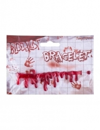 Bracelet gouttes de sang (halloween)