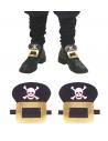 Boucles de chaussures pour déguisement de Pirate