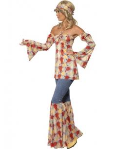 Déguisement vintage hippie femme | Déguisement
