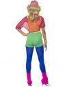 Déguisement prof de gym (body, haut court, short et bandeau)