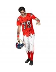 Déguisement Joueur de football Américain Zombie Homme (tee-shirt rembourré, pantalon)