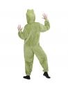 Déguisement Grenouille, Adulte, Vert (combinaison à capuche avec masque)