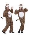 Déguisement Tigre, Adulte Marron et noir