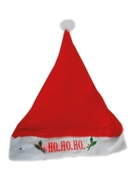 Bonnet de Noël rouge lumineux