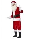 Pack Père Noël Luxe Peluche (costume et 10 accessoires)