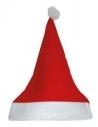 Bonnet de Noël  Rouge - 1er prix - Pack x 10