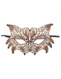 Mask  Steampunk - bronze