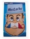 Moustache bleu, blanc, rouge - France